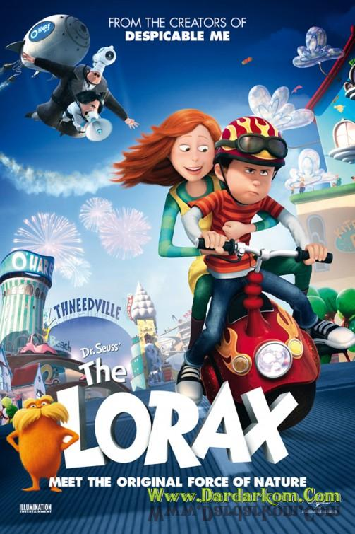 Dr Seuss The Lorax 2012 poster